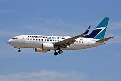 C-GLWS Boeing 737-76NW WestJet Airlines YVR 17JUN18