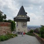Schlossberg. La tour de l`Horloge.