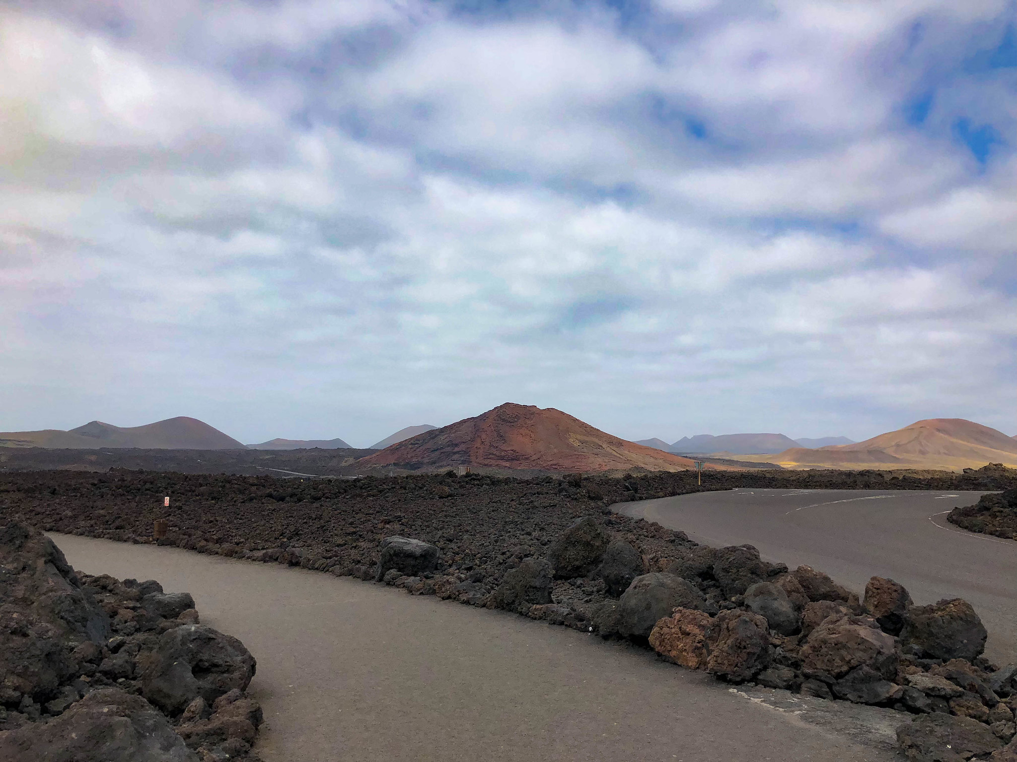 Volcanic mountains of Lanzarote
