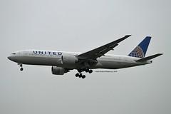 United Airlines N78008 Boeing 777-224ER cn/29478-200 0008 @ EGLL / LHR