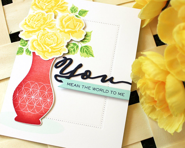 LizzieJones_PapertreyInk_SimpleToSpectacular_June2018_TheSweetLife_YouMeanTheWorldCard3