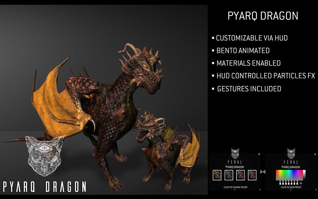 Feral - Pyarq Dragon - TeleportHub.com Live!