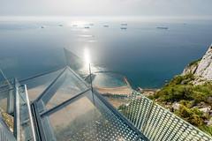 Skywalk Gibraltar 13 - photo taken for Bovis Koala JV by MeteoGib's photographer, Stephen Ball