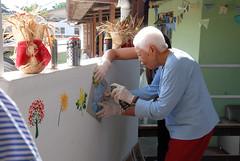 Lar dos Idosos Nossa Senhora da Saúde recebe ações do Movimento Gentileza