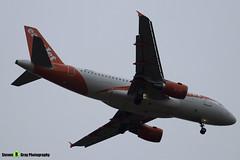 OE-LKD - 3720 - Easyjet - Airbus A319-111 - Luton M1 J10, Bedfordshire - 2018 - Steven Gray - IMG_7141