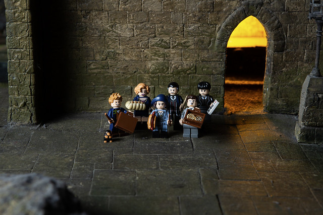 LEGO Wizarding World minifigures (3)
