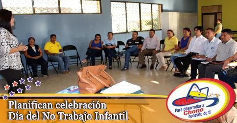 Planifican celebración Día del No Trabajo Infantil