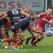 Paul McShane passes from the scrum-6089
