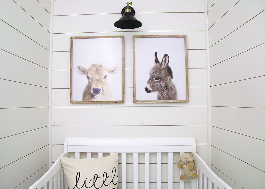 Baby Farm Animals Bedroom
