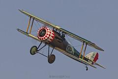 Nieuport 28 C.1 Replica / Répliques volantes de la Grande Guerre / LX-NIE