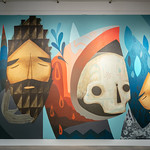 In Sight On Site: Murals - Jaime Molina - Photograph by Wes Magyar