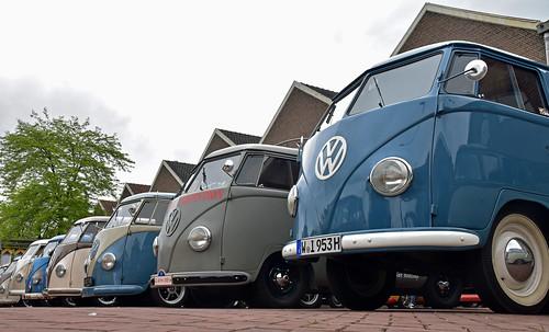 106 VW T1 Barndoors (nickname of pre '55 transporter on display