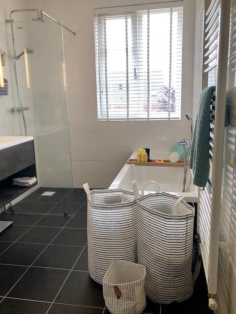 Badkamer ronde wasmanden