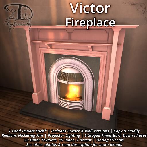 Victor Fireplace - TeleportHub.com Live!