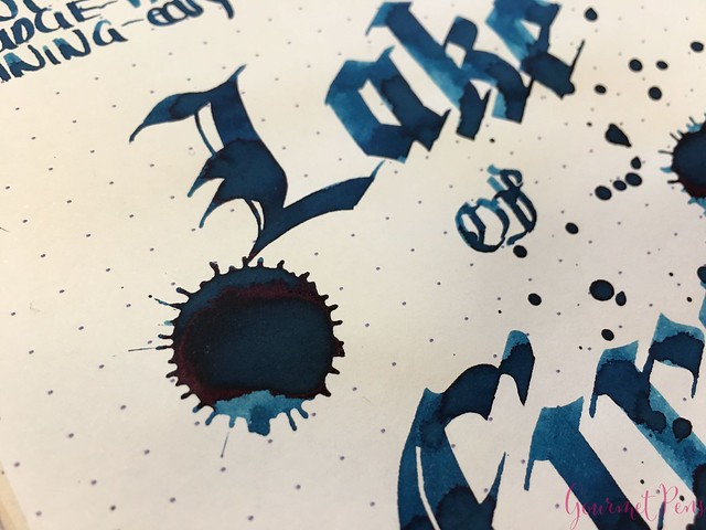 Robert Oster Lake of Fire Ink Review @RobertOsterSignature 14
