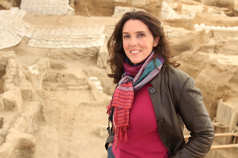 Bettany Hughes, winner of the Helena Vaz da Silva European Award for Raising Public Awareness on Cultural Heritage 2018