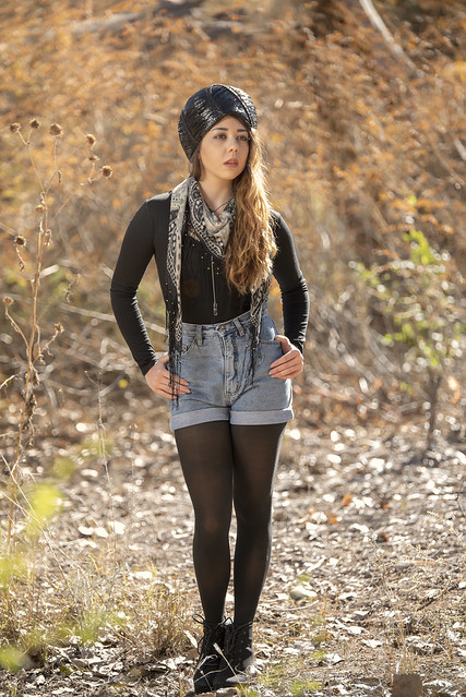 Ashley Dunec at the bosque
