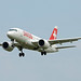 Swiss Bombardier CSeries CS 100 HB-JBE