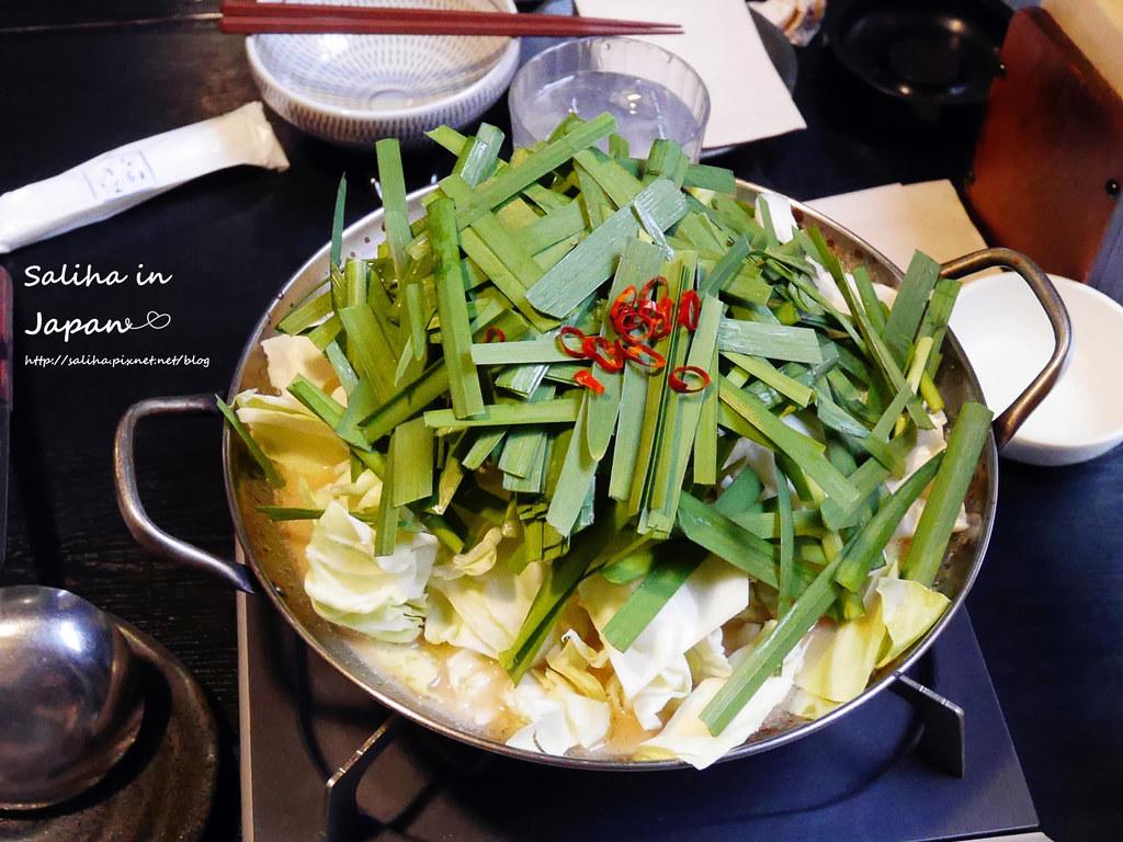 日本九州福岡天神美食笑樂牛腸鍋 (10)