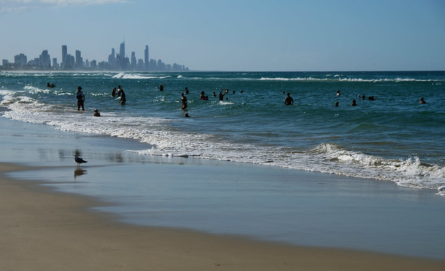 Burleigh Heads Beach, Gold Coast, Australia