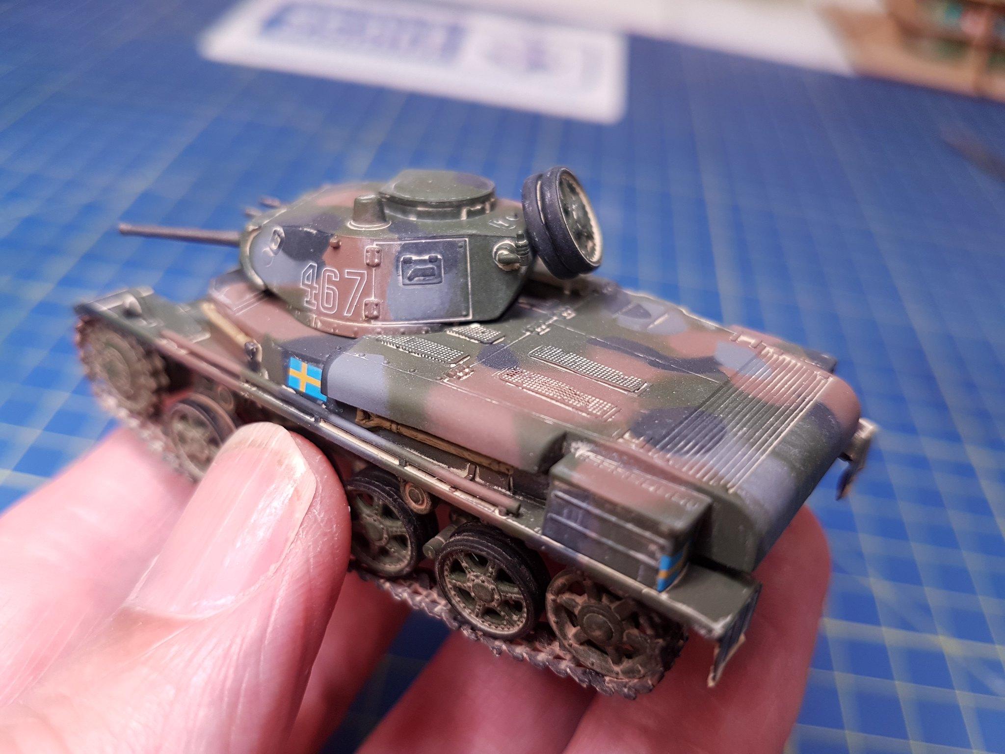 IBG Models 1/72 Stridsvagn m/40L Swedish Light Tank - Sida 2 43405229792_7788b97573_k
