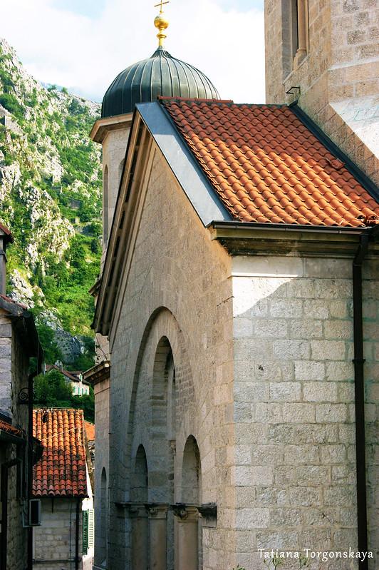 Фрагмент фасада церкви Св.Николая
