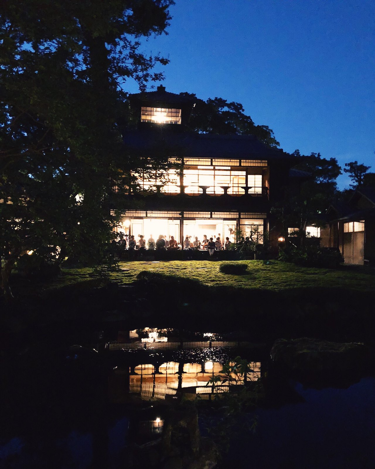 Former villa of the Mitsui household (Kyoto, Japan)