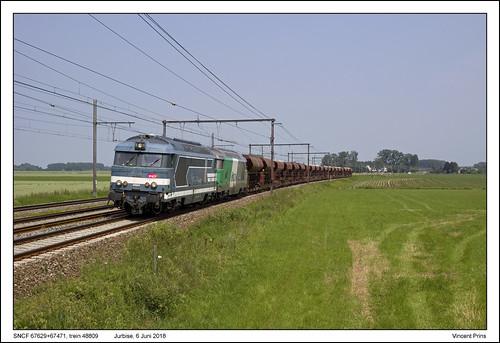 SNCF 67629+67471 - Jurbise - 48809 (06-06-2018)
