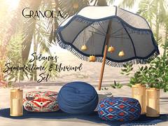 Granola. Solana's Summertime & Unwind Set.
