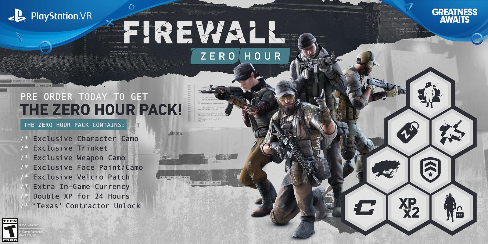 Firewall Zero Hour Pre-order Bonus