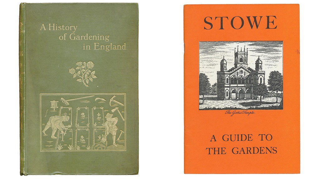 Books from the Gardens Trust Collection