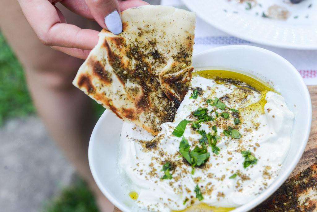 Grilled Za'atar Bread