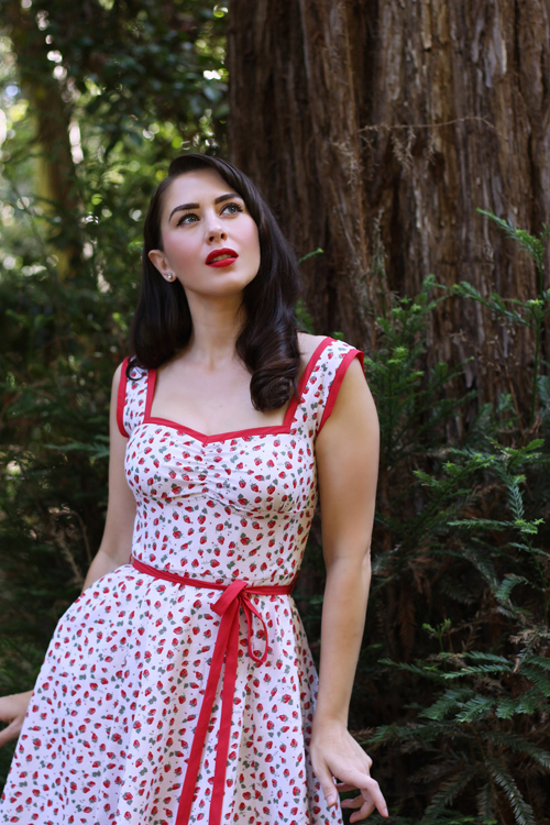 Heart of Haute Sadie Dress in Strawberry Fields