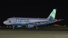 VP-CYE Airbus A319-112 Flynas Prestwick 061116
