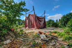 Cirque abandonné [Urbex]