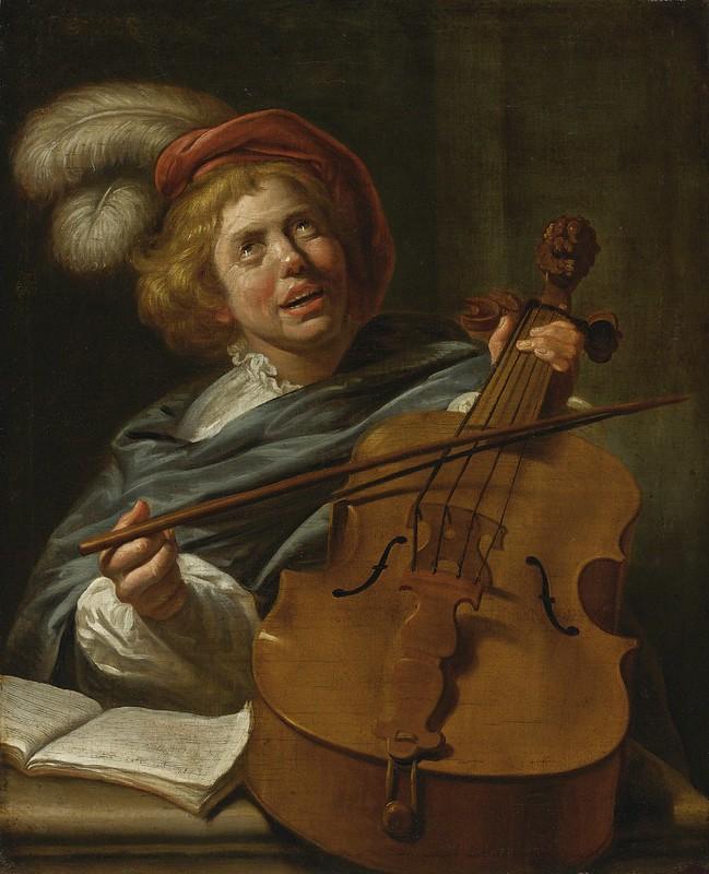 Judith Leyster - Cello player