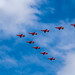 Red Arrows RAF Centenary Flypast