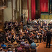 DSCN0182left Prelude a l'apres-midi d'un faune. Claude Debussy. Ealing Symphony Orchestra, leader Peter Nall, conductor John Gibbons. St Barnabas Church, west London. 14th July 2018.