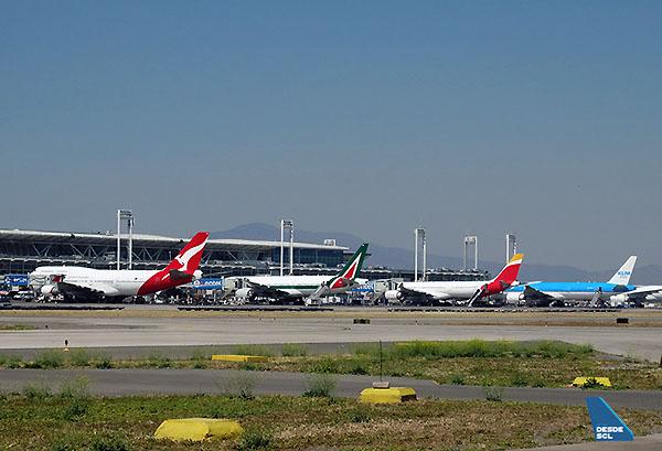 SCL aerolíneas internacionales Nov16