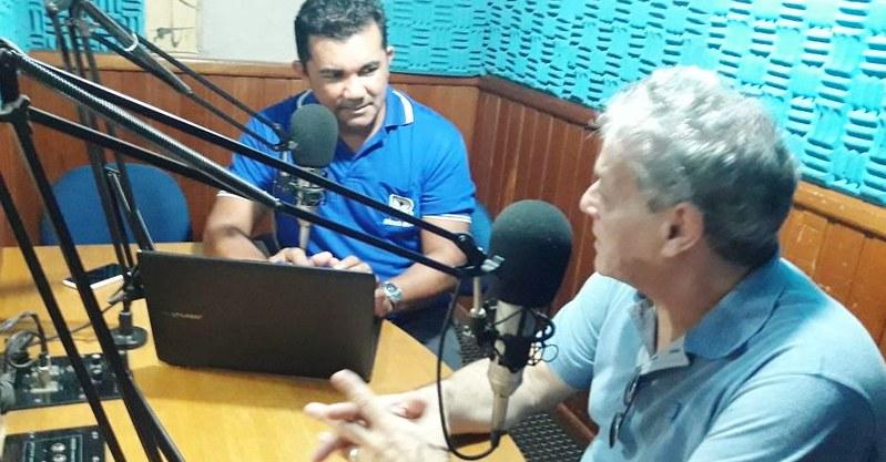 Pré-candidato à Presidência participa de evento político em Santarém, hoje, João Goulart Filho na Rádio Rural AM