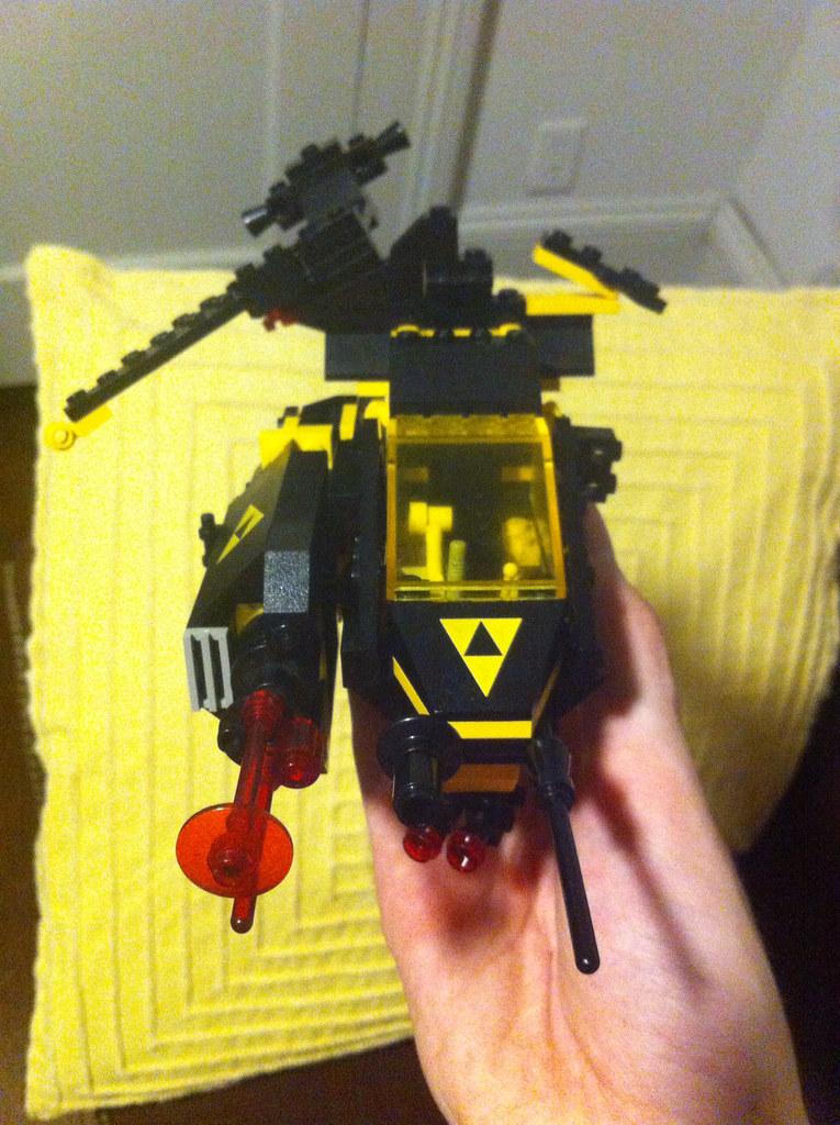 Blacktron Gunship WIP II