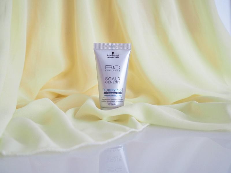 schwarzkopf bc scalp genesis syväpuhdistava shampoo