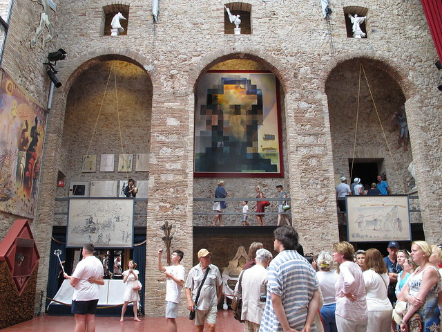 friday, midsummer's eve, at the salvador dali museum, figueres