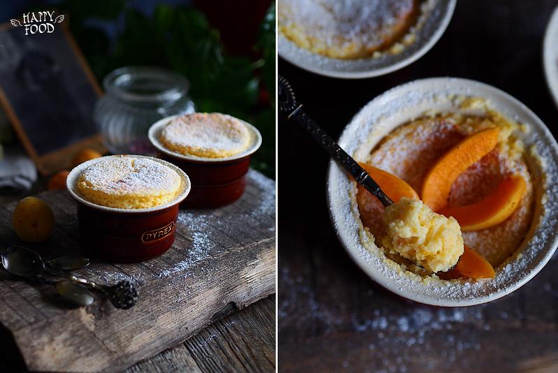 Суфле абрикосовое с розмарином