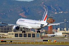 F-HEPA A320-214 Air France Barcelona-El Prat 17-02-16