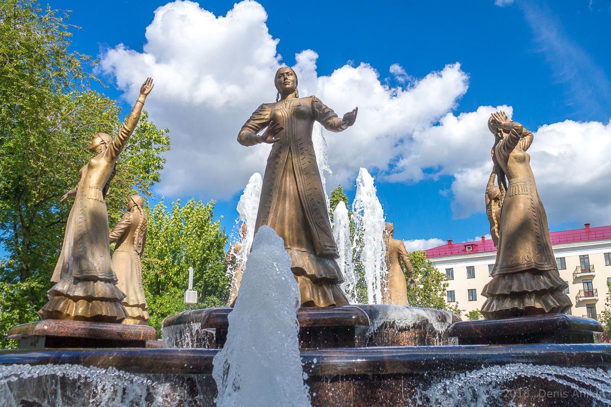 фонтан Семь девушек Уфа фото 4