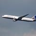 N35953 Boeing 787-9 Dreamliner, United Airlines, Runnymede Memorial, Englefield Green, Surrey