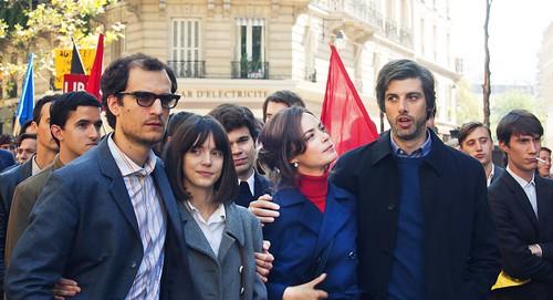 映画『グッバイ・ゴダール!』 © LES COMPAGNONS DU CINÉMA – LA CLASSE AMÉRICAINE – STUDIOCANAL – FRANCE 3.