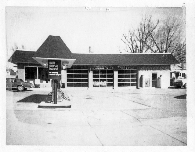 1980s - Standard Gas Station