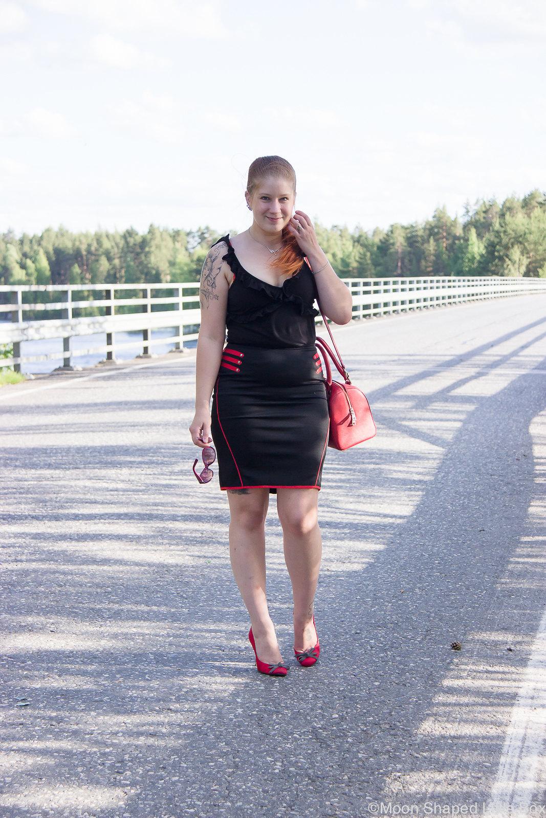 Kynähameen asustaminen, tyylibloggaaja, Pohjois- Karjala, Käsämä